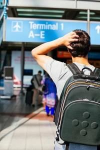 Wer holt Ihren Bewerber vom Flughafen ab?